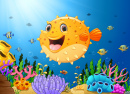 Happy Pufferfish