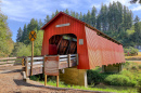 Chitwood Covered Bridge, Oregon