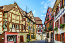 Colmar City Center, Alsace, France