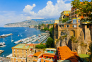 Coast in Sorrento, Italy