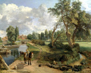 Scene on a Navigable River