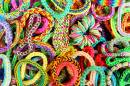 Colorful Rubber Bracelets