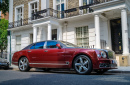 Bentley Mulsanne in Knightsbridge, London