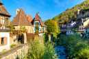 Historical Village in Alsace, France