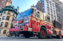 FDNY Fire Truck, Upper West Side