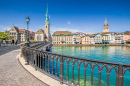 Historic City Center of Zurich, Switzerland