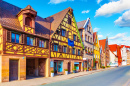 Old Town of Fuerth, Bavaria, Germany