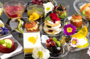 Assorted Appetizers and Desserts