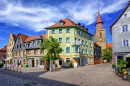 Furth Town by Nuremberg, Germany