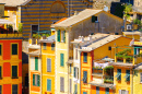 Colorful Houses in Portofino, Italy