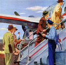 1950 American Airlines Ad