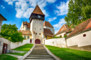 Fortified Saxon Church of Bazna, Romania