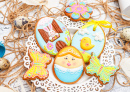 Glazed Easter Cookies