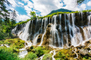 Pearl Shoal Waterfall, Sichuan, China
