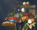 Still Life with Fruits in a Wan-Li Bowl