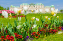 Belvedere Palace and Gardens, Austria