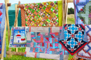 Colorful Patchwork Blankets