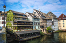 Petite France Historic Quarter in Strasbourg