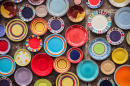 Colorful Porcelain Plates
