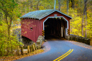 Kurtz's Mill Covered Bridge, Pennsylvania
