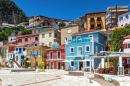 Town of Parga, Epirus, Greece