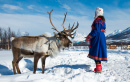 Sámi Woman in Lapland