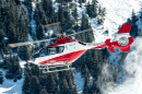 Eurocopter EC135 T1 Helicopter in Courchevel