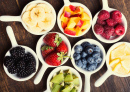 Berries and Fruits in Bowls
