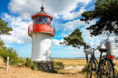 Lighthouse Gellen, Hiddensee Island