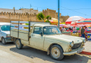 Old Pickup in Sfax, Tunisia