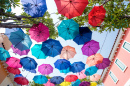 Colorful Umbrellas, Agueda, Portugal