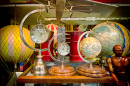 Antique Clocks and Globes