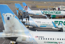 Frontier Airlines Airplanes in Denver