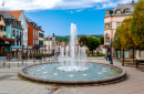 Fountain in Saverne, Grand Est, France