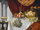 Still Life of Fruit on a Table