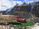 Lifeguard Helicopter in Himalaya Mountains