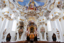 Wieskirche Church in Bavaria, Germany