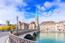 Limmat River, Zurich, Switzerland