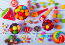 Colorful Lollipops, and Candies