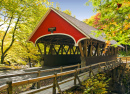 Covered Bridge in Franconia NH