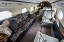 Private Business Jet Interior