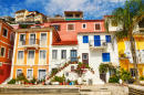 Town of Parga, Greece