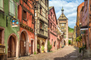 Riquewihr Village, Alsace, France