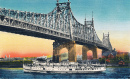 Postcard of the Queensboro Bridge