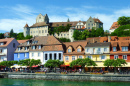 Waterfront of Meersburg, Germany