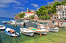 Dalmatian Coast Harbor, Croatia