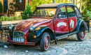 Antique Citroen in Yerevan, Armenia