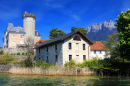 Duingt Castle, Lake Annecy, France