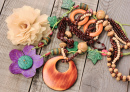 Wooden Handcrafted Necklaces