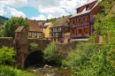 Town of Kaysersberg, Alsace, France